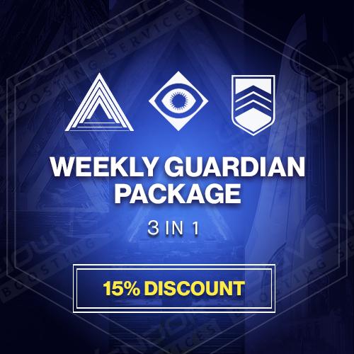 Weekly Guardian Package Boost
